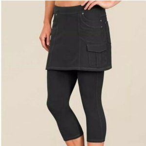 Athleta Bettona 2 in 1 Skirt Capri Leggings